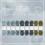 Scheepjes Skies Light 100 % Premium Blend-Baumwolle